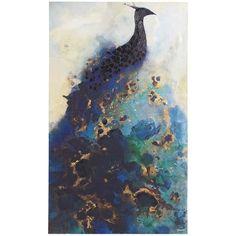 Elegant Peacock Art