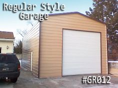 Our regular garages bring you the best outcomes. Get your regular roof garage at lowest prices, Call us now for more info and to start your project. Coast To Coast Carports, Metal Garages, Garage Doors, Building, Outdoor Decor, Home Decor, Style, Swag, Decoration Home