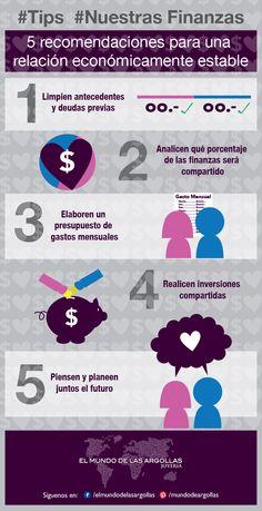 #Tips ¿Iniciando una nueva vida en pareja? Nuestras Finanzas