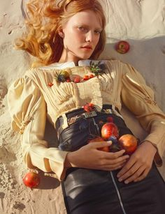 Txema Yeste - Photographer Bernat Buscato - Fashion Editor/Stylist Pasquale Ferrante - Hair Stylist Roos Abels - Model