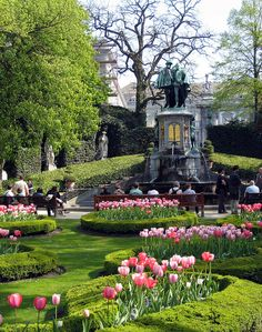Le Petit Sablon Park - Brussels, Belgium... Walked through this park everyday :)