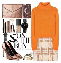 """""""Lazy days❤"""" by galpaian-elisa ❤ liked on Polyvore featuring The Created Co., MARC CAIN, Acne Studios, Alexander Wang, Rebecca Minkoff, Laura Mercier, Chanel, NARS Cosmetics, Topshop and Kendra Scott"""