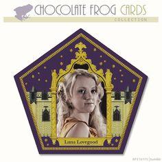 Luna Lovegood Chocolate Frog Card