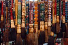 ZUNIGA INTERIORS: Love...Calligraphy Brushes...