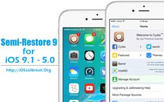 How to Restore iOS 9.1 - iOS 8.4 - iOS 7 using SemiRestore9 Without Losing Jailbreak - step by step guides