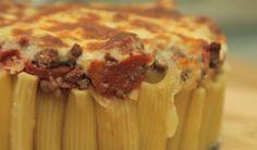 طريقة عمل فطيرة الباستا Fantastic pizza pasta pie