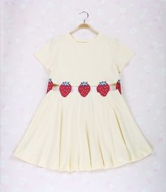 Strawberry dress Free shipping