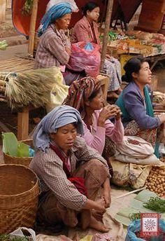 Mercado de Kalaw Myanmar