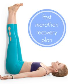 Post marathon Recovery Plan - immediately and in the weeks following for optimal recovery