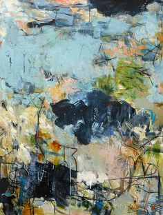 "TODAY IS A MIRAGE 48""h x 36""w by Krista Harris"