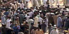 #Enraged locals take to street against power #outage in #Peshawar