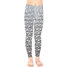 Kid's Spaceship Earth Epcot Inspired Leggings