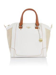 Fiorelli Kenzie white tote bag