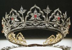 Queen Victoria's Oriental Circlet Tiara ~ It was designed by her husband, Prince…