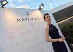 Actress Mia Wasikowska poses during the 70th Venice International Film Festival at Terrazza Maserati on August 29, 2013 in Venice, Italy.