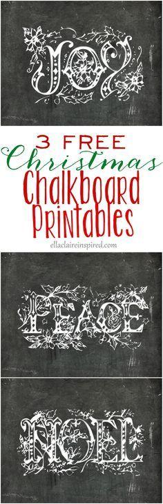 These 3 free chalkbo