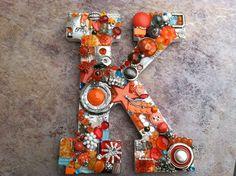 Custom Reserved Handmade jewelry mosaic wall by MosaicTreasureBox,