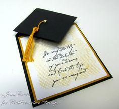 Brilliant Grad card....by Joan Ervin