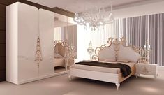 Tips For a Contemporary Bedroom - Uncinetto Living Room Decor Furniture, Home Decor Bedding, Modern Bedroom Furniture, Bed Furniture, Bedroom Decor, Royal Furniture, Wardrobe Design Bedroom, Bedroom Bed Design, Room Color Design