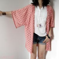 L'usine à bulle: [DIY] Gilet kimono ultra facile Plus