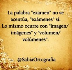 The word 'examen' has no accent, but 'exámenes' does. It's the same with 'imagen/imágenes' and 'volumen/volúmenes'.