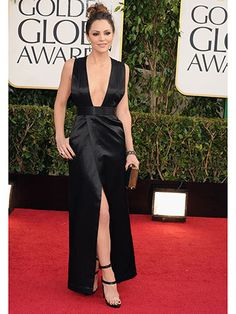 2013 Golden Globes: Katharine McPhee in Theysken Theory