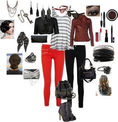 """Punk Rock Chic"" by jtfashionpins on Polyvore"