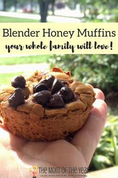 These Blender Honey Muffins are an easy, delicious, healthy recipe that will please the whole family! And check out these fun ideas for mix-ins! Healthy Eats, Healthy Recipes, Breakfast Recipes, Muffin Recipes, Honey Recipes, Quick And Easy Breakfast, Healthy Muffins, Fall Baking, Healthy Appetizers