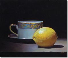 """Teacup and Lemon No. 1"" - Jeffrey Hayes"