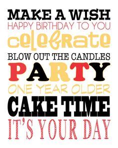 Simple Mickey Mouse Birthday Party + FREE Subway Art Printable - Cupcake Diaries