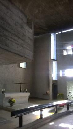 La chapelle de Le Corbusier.