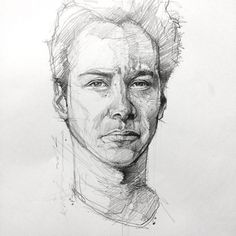 after what have shared bout this generous actor, Keanu Reeves, i just want to sketch him.very inspiring and lots of respect. Parts from the Article…… The second and third Matrix movies. Portrait Sketches, Drawing Sketches, Pencil Drawings, Figure Sketching, Figure Drawing, Daily Drawing, Portraits, Sketch Design, Photo Art
