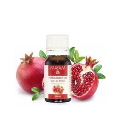 Cu proprietăți antioxidante forte și un conținut remarcabil de substanțe antiinflamatoare și antiradicalare, uleiul de rodie este o alegere bună pentru aplicații de combatere a ridurilor, anti-age, de stimulare a regenerării pielii și sporire a elasticității cutanate. Pomegranate, Cosmos, Strawberry, Homemade, Fruit, Health, Food, Medicine, Therapy
