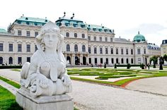 Belvedere Palace...Vienna, Austria Loved the art there!