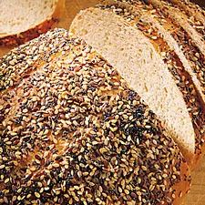 Though we're more familiar with caraway-flavored rye breads, this one features the familiar flavor of dill. We find it a nice change from the norm.