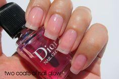 Dior Nail Glow...I want this! Dior Nail Glow, Dior Nail Polish, Nail Whitening, Beauty Nails, Hair Beauty, Dior Makeup, My Crazy, Nail Care, Hair And Nails