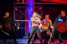 A First Look at The Lightning Thief: The Percy Jackson Musical National Tour Percy Jackson Musical, Percy Jackson Art, The Lightning Thief Musical, Daughter Of Poseidon, Musical Theatre, Theatre Actors, Sun And Stars, Kid Memes, Heroes Of Olympus