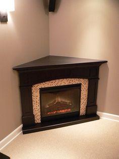Gorgeous Corner Electric Fireplace