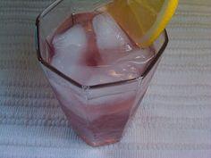 Blackberry Lemon Water.