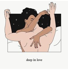 not all sex is sexual (at least not for G), sometimes she just wants to be as close as possible to P Coloring Book App, Stay In Bed, Interracial Couples, Sex And Love, Illustrations, Couple Art, Hopeless Romantic, Art Day, At Least