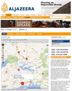 Amazing tool to show change http://blog.ushahidi.com/