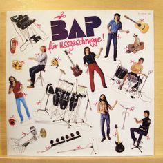 BAP - Für usszeschnigge! - m - - Vinyl LP - + POSTER - Verdamp lang her