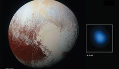 Seeing Pluto with X-ray Vision