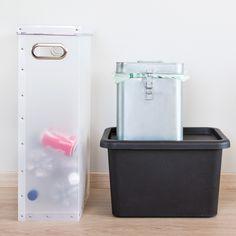Kierrätys sujuu helpommin, kun eri tyyppisille jätteille on asianmukainen astia.