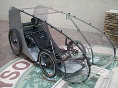 All-weather trike