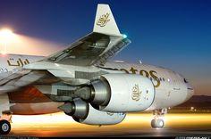Brilliant Time Lapse shot - Emirates Airbus A340-541 - Christchurch - International (CHC / NZCH) - New Zealand, July 10, 2008 - Photographer Torin Wilson
