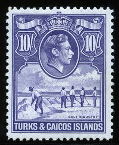 King George VI Turks and Caicos Islands