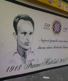 Hajduk Split Torcida mural. One of the nicest for me.  taken from www.torcida.org