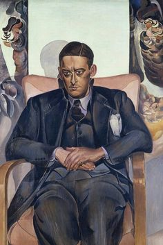 Wyndham Lewis, Portrait of T.S. Elliot, 1938, Durban Art Gallery, South Africa. Wikimedia Commons; Wyndham Lewis' Portraits
