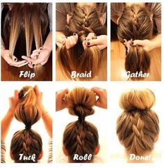 Summer Hairstyle Instructions